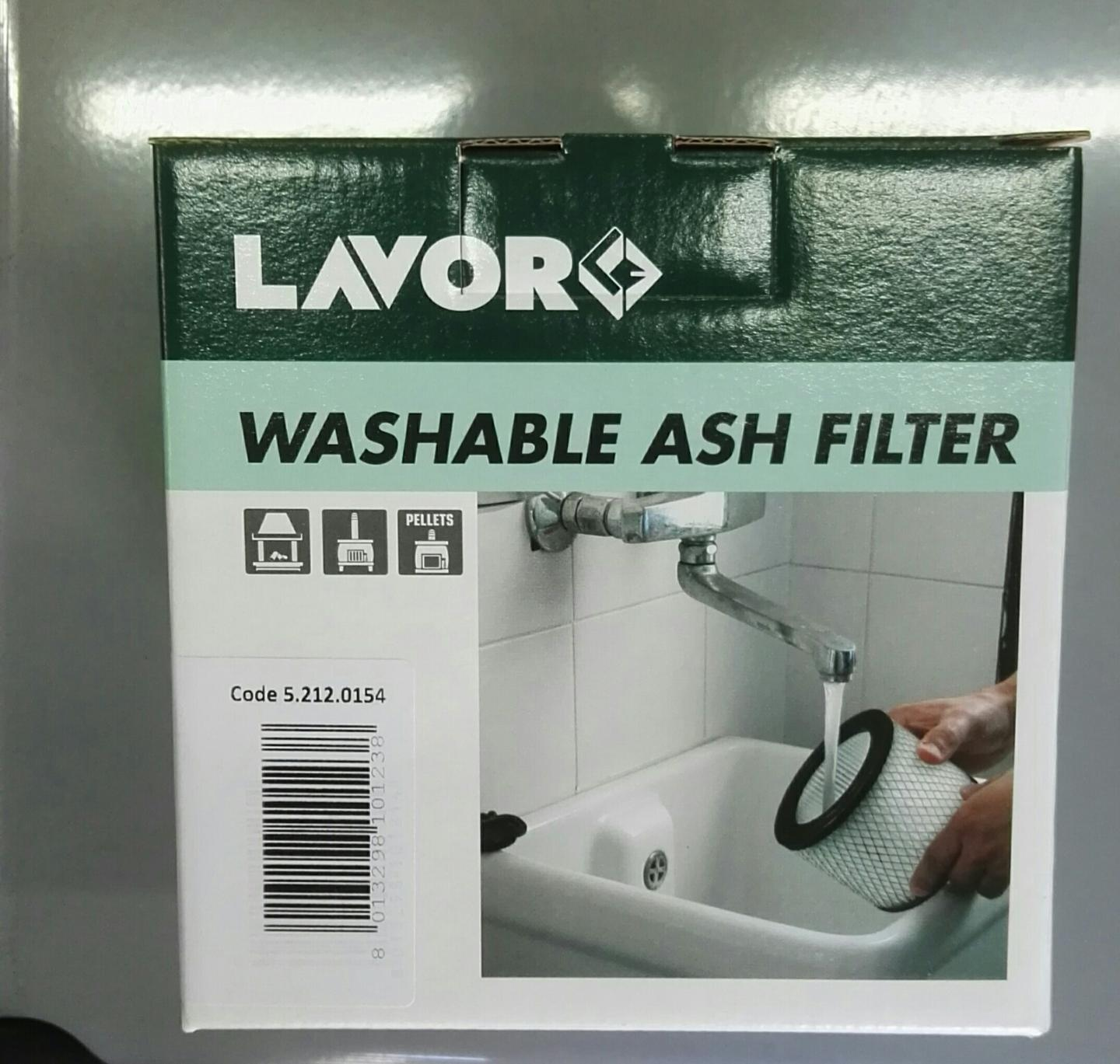 LAVORWASH FILTRO LAVABILE COD 5.212.0154 PER ASPIRACENERE Freddy Ashley Kombo LAVORWASH    cod. 5.212.0154