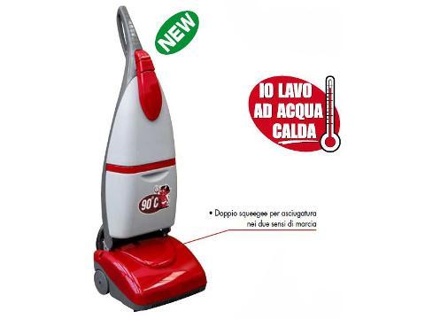 LAVASCIUGA PAVIMENTI CRYSTAL CLEAN LAVOR AD ACQUA CALDA A 90° C LAVOR    cod. 8.501.0508