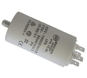 CONDENSATORE  PER MOTORE ELETTRICO E ELETTROPOMPA  MONOFASE  8 µF MICROFARAD  - 450 V ITALFARAD - DUCATI - ICAR  8 µF MICROFARAD  - 450 V