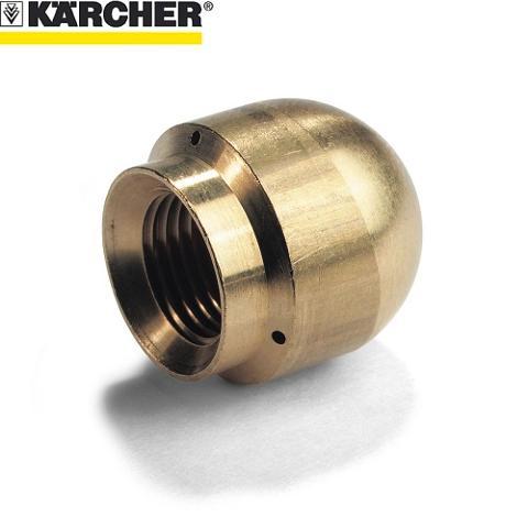 UGELLO STURATUBI KARCHER DIAMETRO 16 mm PER IDROPULITRICI PROFESSIONALI KARCHER   cod. 5.763-015.0