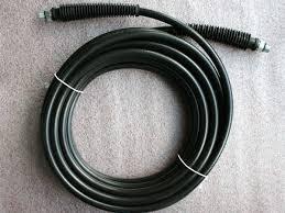 Tubo alta pressione mt. 10 per idropulitrici professionali attacco 3/8  tubo A.P. mt.10