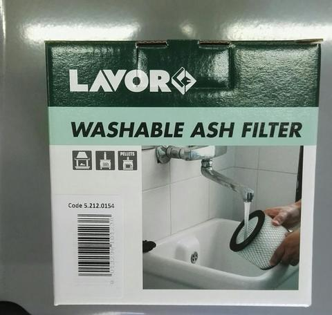 LAVORWASH FILTRO LAVABILE COD 5.212.0154 PER ASPIRACENERE Freddy Ashley Kombo LAVOR - FASA  5.212.0154 - EX COD 5.212.0047