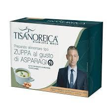 Zuppa proteica al gusto di Asparagi Vegan Tisanoreica Gianluca Mech