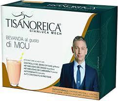 Bevanda Proteica al gusto Mou Tisanoreica Gianluca Mech