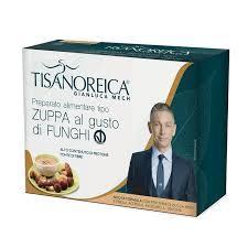 Zuppa Proteica al gusto di Funghi Vegan Tisanoreica Gianluca Mech