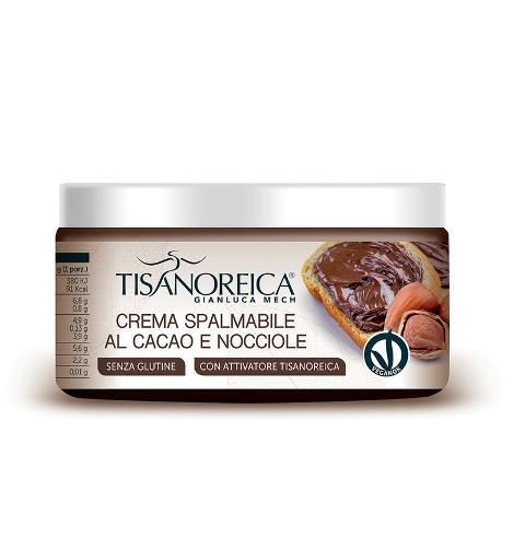 Crema spalmabile Proteica al Cacao e Nocciole (tipo Nutella) Tisanoreica Gianluca Mech