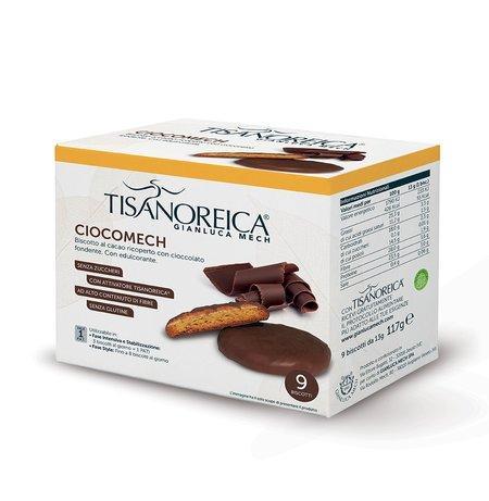 Ciocomech al Cacao (9 Biscotti da 13 g) Tisanoreica Gianluca Mech