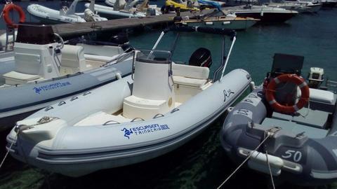 Noleggio Gommone a San Vito Lo Capo: ARIMAR 5,40 MT suzuki 40/60 CV 4T MAX 6 PERSONE