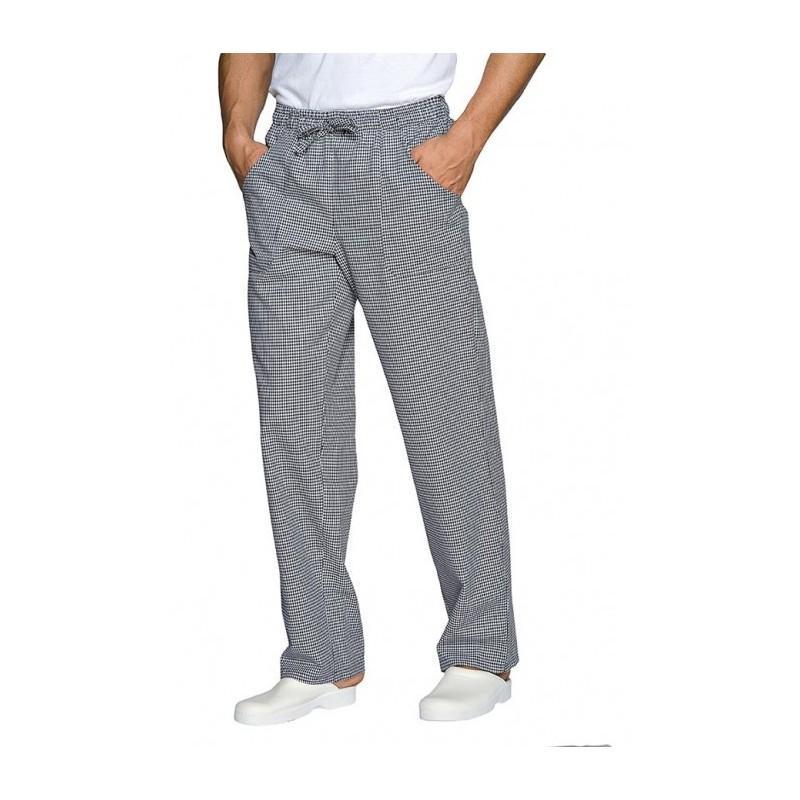 Pantalone da cucina quadri sale e pepe siggi elastico+coulisse ...
