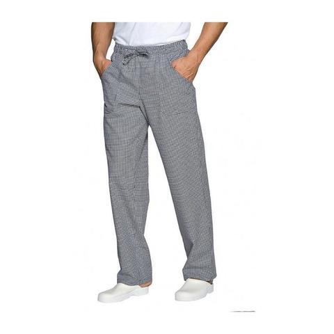 Pantalone da cucina quadri sale e pepe siggi elastico+coulisse