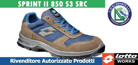 Scarpa antinfortunistica  lotto sport Sprint II 850 S3