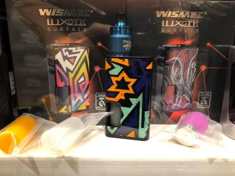 Sigaretta Elettronica Box WISMEC Luxotic surface