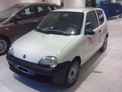 Fiat Seicento van FORNO Benzina