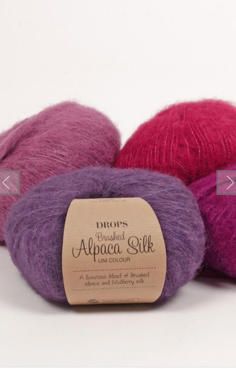 LANA DROPS brushed alpaca silk