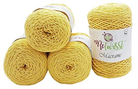 Cordoncino macramè Re-Twisst Cordoncino macramè per borse e accessori