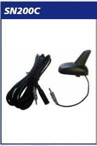 Antenna Passiva a Pinna AM_FM Con Cavo DIN Cm 450 MECATRON