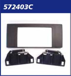 MASCHERINA nera KITRADIO 2DIN BMW X 5-E53- '00>'06 MECATRON
