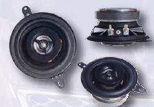 Coppia Altoparlanti  2 Vie  87 mm 4 Ohm 80 Watt MECATRON