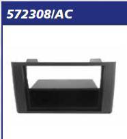 MASCHERINA Antracite RADIO 2 ISO IVECO DAILY 012>> MECATRON
