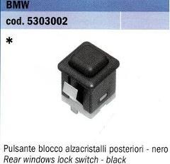 PULSANTE BLOCCO ALZAVETRI POSTERIORI BMW POLITECNICA 80