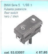 PULSANTE POSTERIORE BMW Serie 5 1/88-> POLITECNICA 80