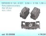 PULSANTE POST.SX MERCEDES 124/201 89->/12 POLITECNICA 80