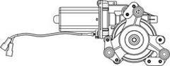COPPIA ALZACRISTALLI ELETTRICI ANTERIORI 2 PORTE VW TRANSPORTER T5 08/03> POLITECNICA 80
