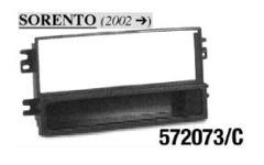 ADATTATORE  AUTORADIO ISO KIA SORENTO '02> MECATRON