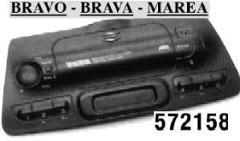COPRIVANO RADIO ISO PER FIAT BRAVO,BRAVA,MAREA >02 MECATRON