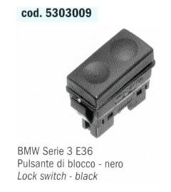 PULSANTE BLOCCO ALZACRISTALLI POSTERIORI  BMW Serie 3 E36 POLITECNICA 80