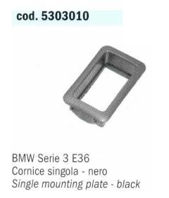 CORNICE SINGOLA PER PULSANTE ALZAVETRI BMW Serie 3 E36 POLITECNICA 80