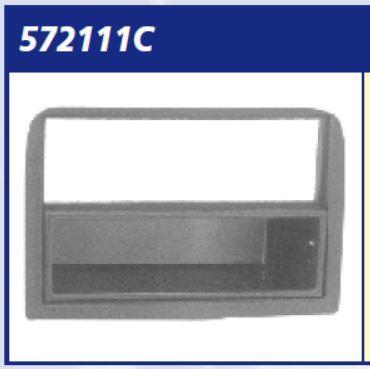 MASCHERINA AUTORADIO SILVER ALFA 147 '05>> 2  ISO  MECATRON