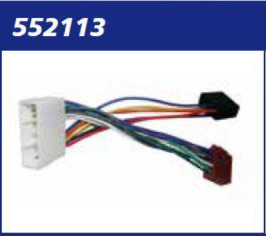 CONNETTORE AUTORADIO SSANG YONG DAEWOO CHEVROLET MECATRON