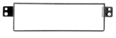 MASCHERINA NERA  AUTORADIO ISO SSANG YONG Rexon <05  MECATRON