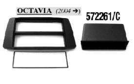 MASCHERINA RADIO 2 ISO SKODA Octavia 04><06,Yeti  MECATRON