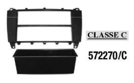 MASCHERINA AUTORADIO 2 ISO MERCEDES Classe C-CLK'05> MECATRON