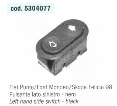 PULSANTE ALZAVETRI SINISTRO PUNTO / MONDEO / FELICIA' POLITECNICA 80