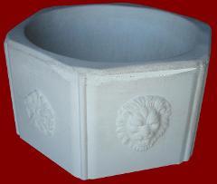 Vaso di Leone Esagonale M.C.G. ART. 037/01