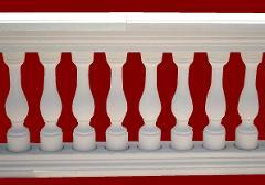 Balaustra completa senza pilastro M.C.G. ART. 00/009