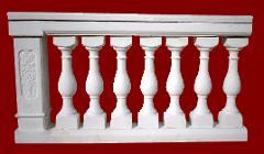 Balaustra completa di pilastro M.C.G. ART. 003