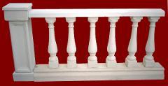 Balaustra completa di pilastro M.C.G. ART. 004