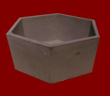 Vaso Esagonale M.C.G. ART. 036/03