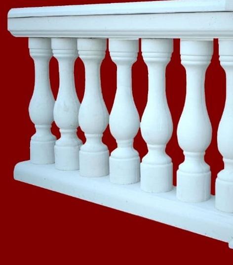 Balaustra completa senza pilastro M.C.G. ART. 00/002