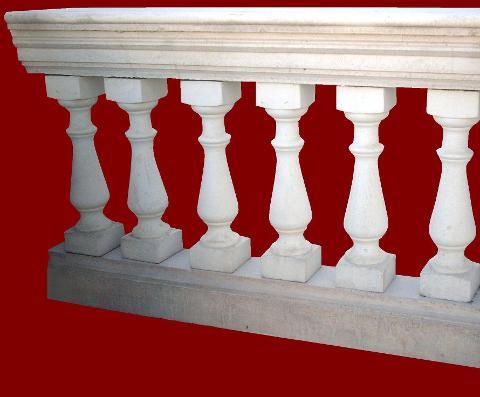 Balaustra completa senza pilastro M.C.G. ART. 00/006