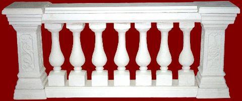 Balaustra completa di pilastro M.C.G. ART. 008