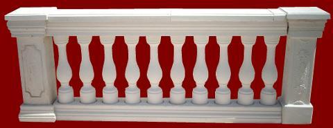 Balaustra completa di pilastro M.C.G. ART. 009