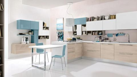 Cucina componibile moderna Lube Swing