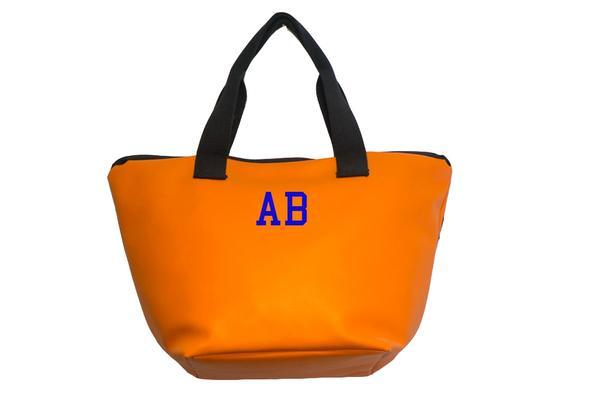 Shopping Bag Arancio SocialBag Ecopelle