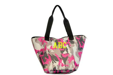 Shopping bag mimetica Fuxia SocialBag Ecopelle