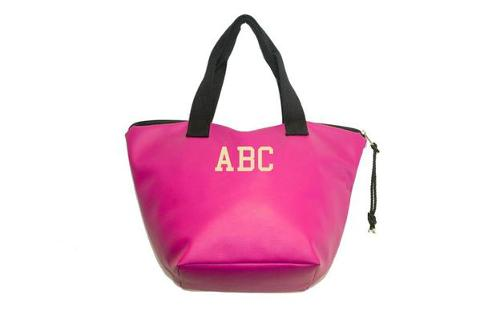 Shopping bag Fuxia SocialBag Ecopelle